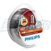 Галогенные лампы H7 12V 55W Philips X-treme Vision G-force + 130%