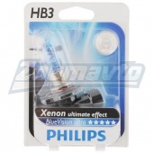 Галогенная лампа HB3 (9005) 12V 65W Philips BlueVision Ultra