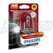 Галогенная лампа H4 12V 60/55W Philips X-treme Vision G-force + 130%