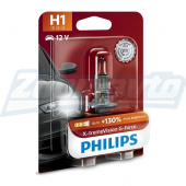 Галогенная лампа H1 12V 55W Philips X-treme Vision G-force +130%