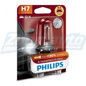 Галогенная лампа H7 12V 55W Philips X-treme Vision G-force + 130%