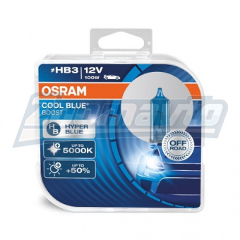 Купить галогенные лампы HB3 (9005) 12V 100W Osram Cool Blue Boost +80% в Нижнем Новгороде