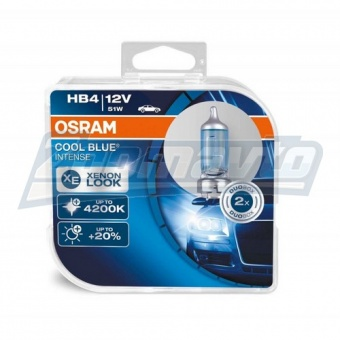 КУпить галогенные лампы HB4 (9006) 12V 51W Osram Cool Blue Intens +20% в Нижнем Новгороде
