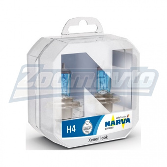 Купить галогенные лампы H4 12V 100/90W Narva Range Power White +80% в Нижнем Новгороде